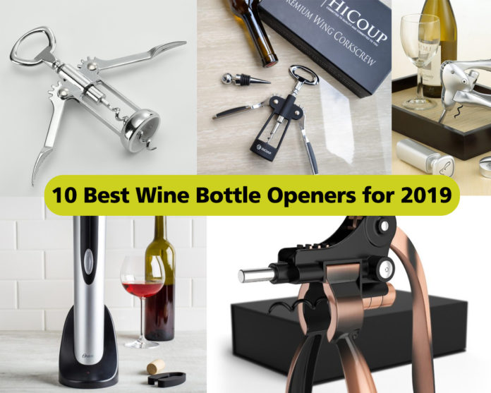 10 Best Wine Bottle Openers for 2019