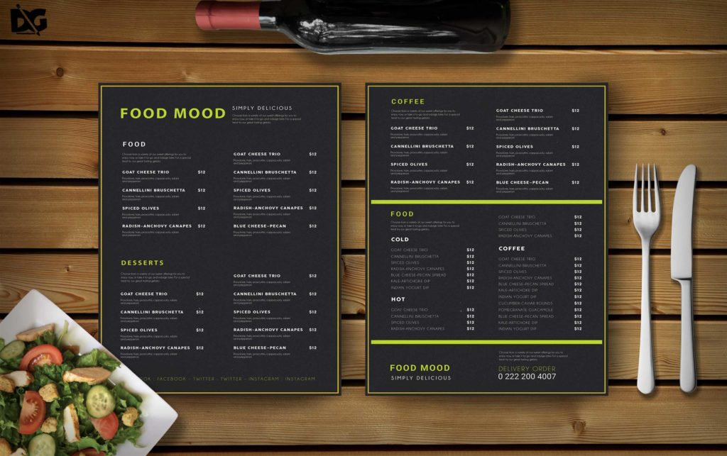 how to create a wine list for a restaurant menu in 2020